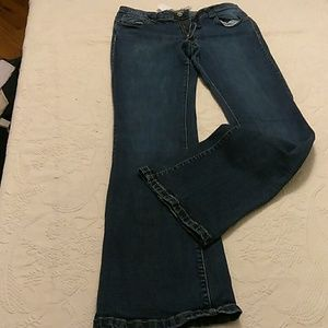 Paper and cloth jeans